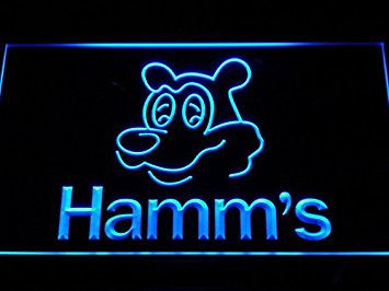 Hamm's Beer Bear Head Bar LED Neon Light Sign Man Cave A205-B