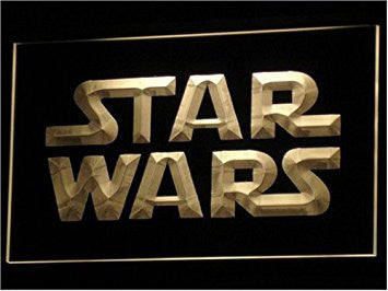 Star Wars Neon Sign (Movie. Light. LED)