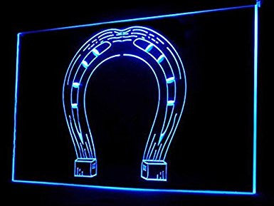Horseshoe LED Sign Neon Light Sign Display