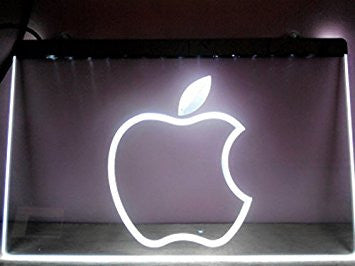 Apple Computers Neon Sign (Logo. LED)