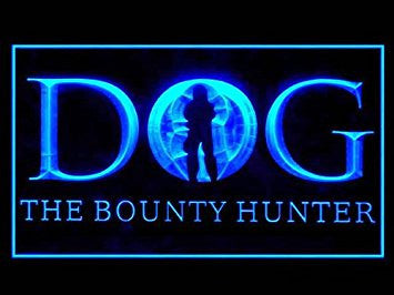 Dog The Bounty Hunter Led Light Sign
