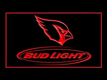 Bud Light Arizona Cardinals Neon Sign (LED. Light)
