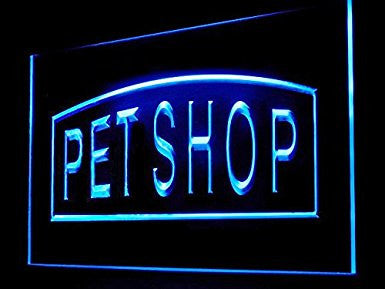 C B Signs Pet Store Pet Shop LED Sign Neon Light Sign Display