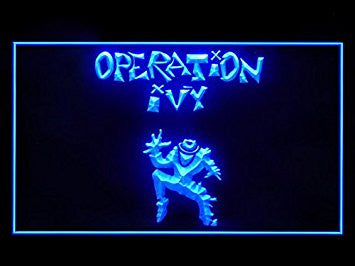 Operation Ivy Led Light Sign