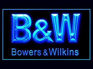 B&W Bowers & Wilkins Audio Led Light Sign