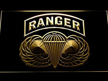 US Army Ranger Parawings Neon Sign (Light. LED. Man Cave. F143-Y)