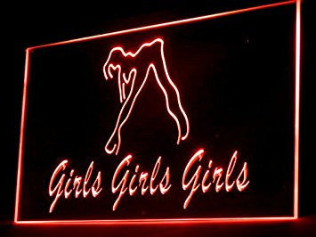 Sexy Girls Show Led Light Sign