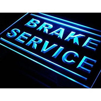 Brake Service Neon Sign (Car. Repair. Shop. Light. LED)