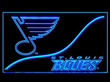 St. Louis Blues Cool Led Light Sign