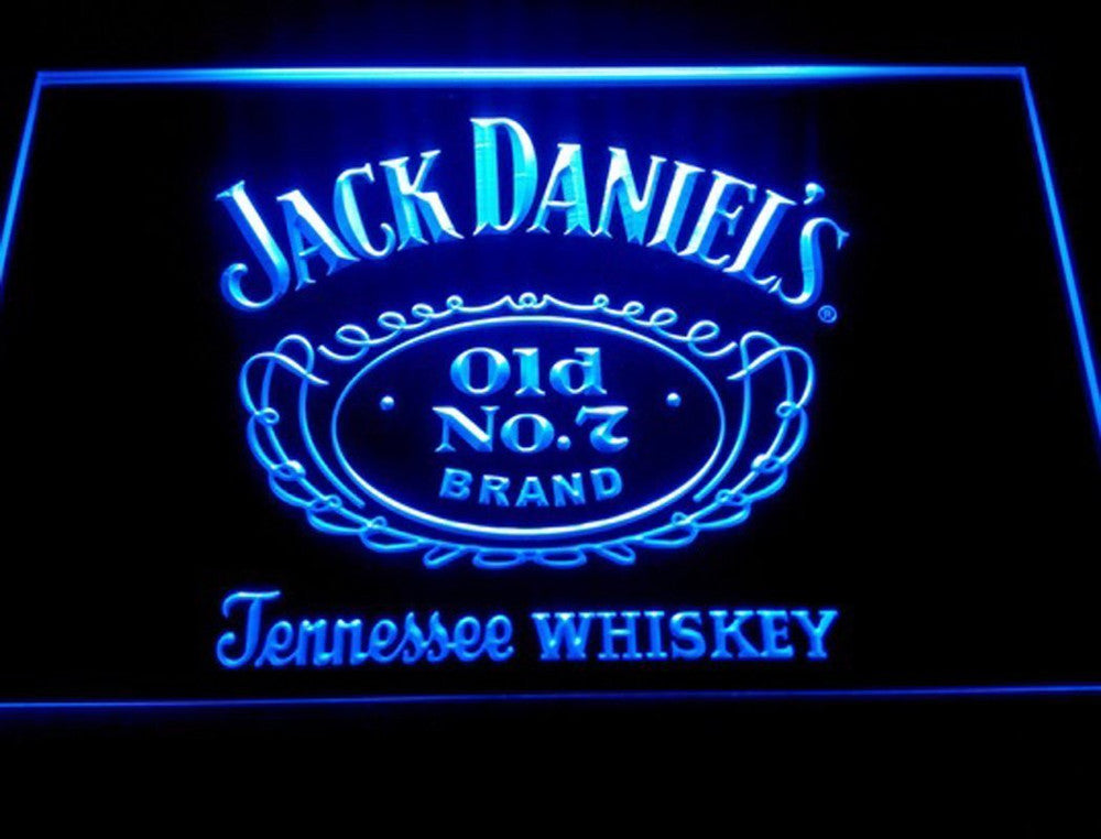 Man Cave Tennesee Whiskey LED Neon Sign - Light Sign