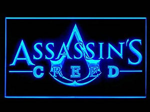 Assassins Creed Led Light Sign
