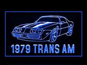 1979 Trans AM Racing Display Led Light Sign