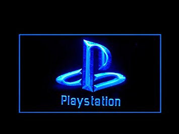 Playstation Store Games Shop Advertising Led Light Sign