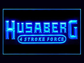 Husaberg Neon Sign (Motorcycle. Bike. Repair. Service. LED. Light)