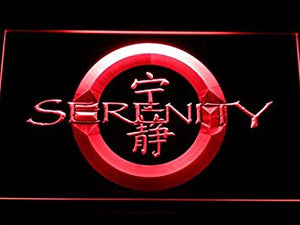 Firefly Serenity Neon Sign (Light. LED. Man Cave. G183-R)