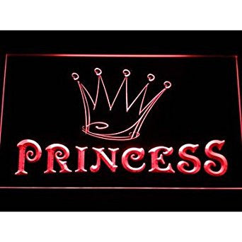 BuW Princess Game Room Crown Neon Light Sign. led lights for home pretty nigh...