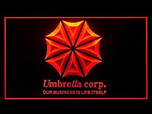 Umbrella Corp Our Business Is Life Itself Bar Advertising LED Light Sign P739R