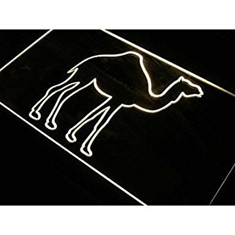 BuW Camel Display Desert Animals Neon Light Sign. lighting direct cool night ...