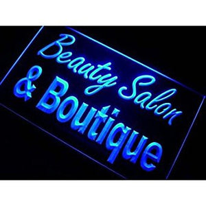 BuW Beauty Salon & Boutique Neon Light Sign. lighting direct cool night light...