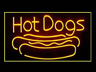 C B Signs Hot Dogs LED Sign Neon Light Sign Display