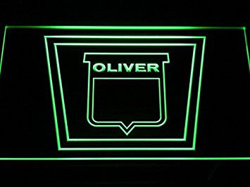 Oliver Tractor Neon Sign (LED. Light. Man Cave. D189-G)