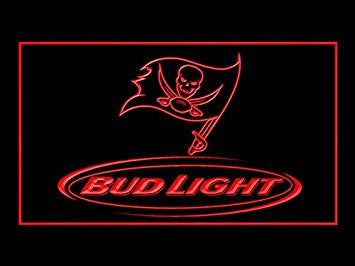 Bud Light Tampa Bay Buccaneers Neon Sign (LED. Light)