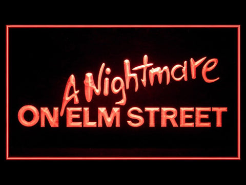 A Nightmare On Elm Street (Pattern 1) Hub Bar Advertising LED Light Sign P609R