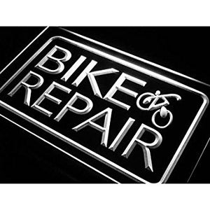 BuW Bike and Repair Services Neon Light Sign. lighting direct cool night ligh...
