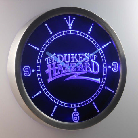 The Dukes Of Hazzard 3D Neon Sign LED Wall Clock NC0236-B