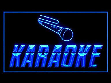 C B Signs Karaoke LED Sign Neon Light Sign Display