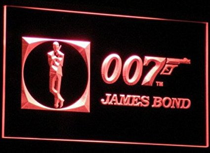 James Bond 007 Neon Sign