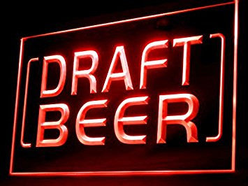 Draft Beer Neon Sign (LED. Light)
