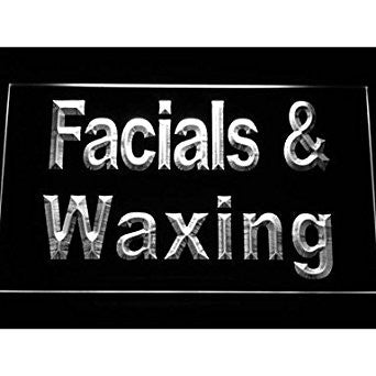 BuW Facials & Waxing Neon Light Sign. lighting direct star night light holida...