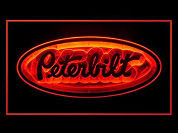 Peterbilt Truck Repair Parts Service Led Light Sign