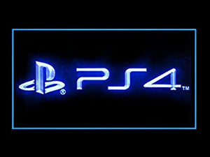 PS4 Playstation 4 Store Games Shop Advertising Led Light Sign