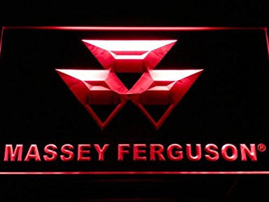 Massey Ferguson Tractor Neon Sign (Light. LED)