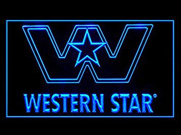 Western Star Truck Repair Services Led Light Sign