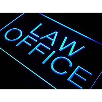 BuW Law Office Display Services Neon Light Sign. led flood lights princess ni...