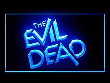 The Evil Dead Hub Bar Advertising LED Light Sign P484B