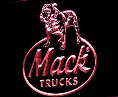 Mack Trucks Dog Neon Sign (Light. LED)