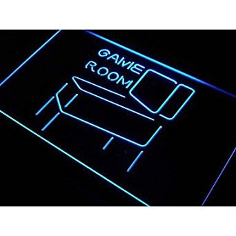 Game Room Pinball Display Decor Neon Light Sign. led flood lights princes...