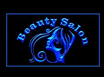Beauty Salon Open Led Light Sign