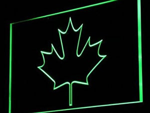 ADV PRO i893-g CANADIAN MAPLE LEAF Display Decor Light Sign