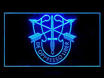 US Army Special Forces Neon Sign (Bar. Pub. LED. Light)