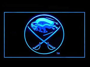 Buffalo Sabres Neon Sign (Beer Bar. Pub. LED. Light)