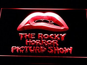 The Rocky Horror Picture Show Neon Sign (Light. LED. Man Cave. G138-R)