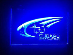 Subaru World Ralley Team Neon Sign (Light. LED)