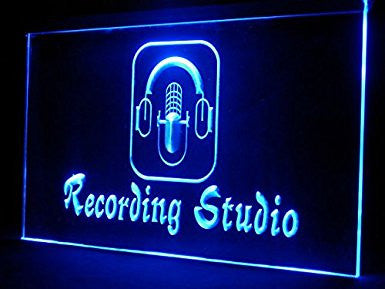 Recording Studio Neon Sign (Light. Display. Music. LED)