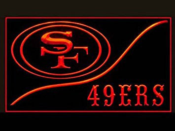 San Francisco 49ers Neon Sign (Cool. LED. Light. NFL)