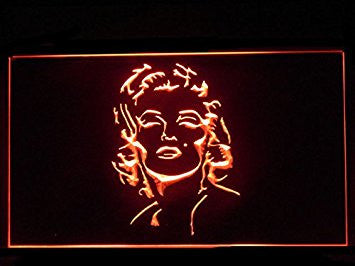 Marilyn Monroe Sexy (Pattern 2) Bar Hub Advertising LED Light Sign J526R